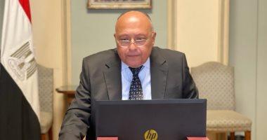 وزير الخارجية يؤكد أهمية تنسيق الجهود لحل مشكلة الصيادين المحتجزين فى إريتريا