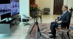 الرئيس اللبنانى يؤكد أهمية قطاع السياحة في إطار الاقتصاد المُنتِج للبلاد