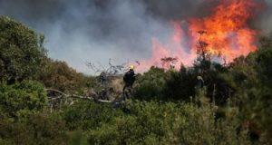 إسرائيل تدفع بفرق الإطفاء لإخماد حرائق متعددة نشبت في جميع أنحائها