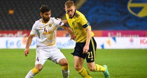 السويد تنهي تحضيراتها لبطولة أوروبا بالفوز على أرمينيا