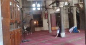 """""""الوداع"""".. أقدم مسجد بالمنيا.. تحفة شامخة على الطراز الإسلامى.. فيديو وصور"""