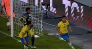 ملخص واهداف فوز البرازيل القاتل على كولومبيا فى كوبا أمريكا