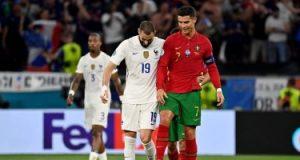 """نتائج مباريات الأربعاء بـ يورو 2020.. خماسية إسبانيا وتعادل البرتغال وفرنسا """"إنفوجراف"""""""