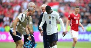يورو 2020.. ديمبيلي يواجه شبح الغياب عن فرنسا ضد البرتغال بسبب الإصابة