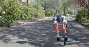 أول روبوت رياضى يجرى مسافة 5 كيلومترات خلال 53 دقيقة (صور وفيديو)