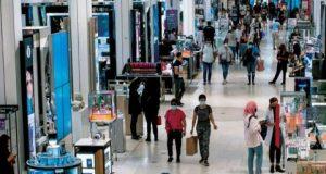 ارتفاع قوي لإنفاق المستهلكين الأميركيين