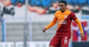 مصطفى محمد على مقاعد بدلاء جالاتا سراي ضد هاتاي سبور في الدوري التركي