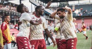 موناكو يقترب من الملحق المؤهل لدورى أبطال أوروبا بثنائية ضد براج.. فيديو