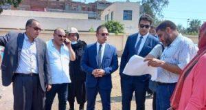 نائب محافظ دمياط يجرى جولة لمعاينة أراض مقترحة لإقامة وحدات بمشروع سكن كريم