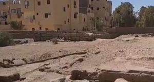 أمين الأعلى للآثار يتابع التجهيزات النهائية لطريق الكباش بالأقصر.. فيديو