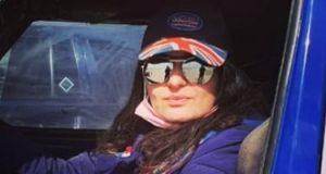 """""""رانيا"""" اقتحمت عالم سباقات السيارات وكونت رالى نسائى: هواية فيها ثقة وقوة"""
