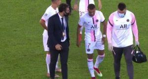 شكوك حول مشاركة مبابى ضد ليون فى الدوري الفرنسي بسبب الإصابة