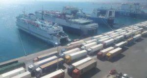 تداول 7200 طن بضائع عامة ومتنوعة بموانئ البحر الأحمر