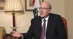 رئيس الحكومة اللبنانية: نمر بأصعب مرحلة فى تاريخ لبنان والتحديات الداهمة كبيرة