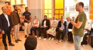 متدربو صندوق مكافحة الإدمان بكفر الشيخ يؤدون قسم الالتزام باللائحة
