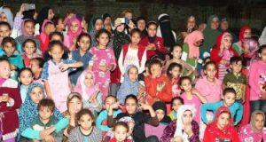وزارة الثقافة ترسم البهجة على وجوه أهالى قرى بنى سويف ضمن مبادرة حياة كريمة