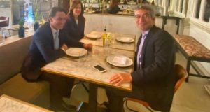 وزير الطاقة اللبنانى يبحث مع كبير مستشارى الخارجية الأمريكية تمويل الطاقة بلبنان